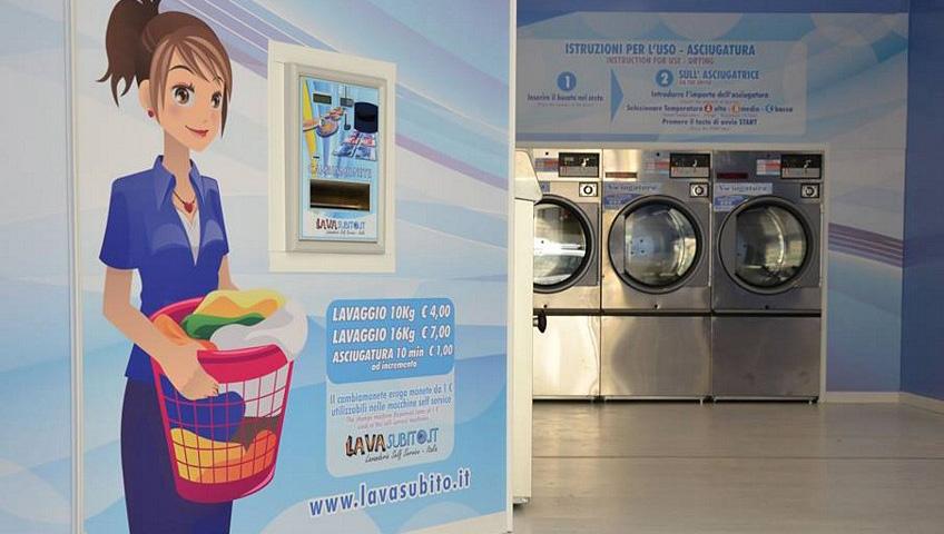 lavanderie self service lavasubito